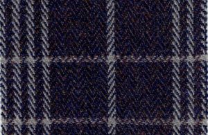 MALT-PURPLE BLUE, M. K. CHECK PATTERN