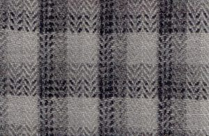 SILVER-GREY, M. K. RARA CHECK PATTERN