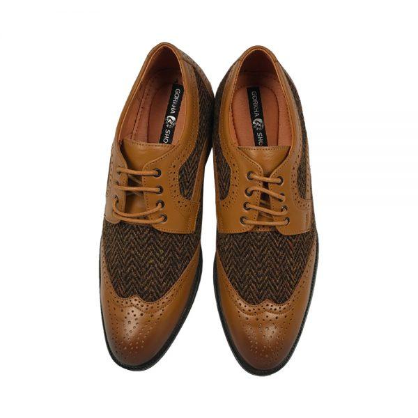 Gorkha GNW Tweed Formal Shoes